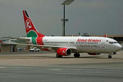 5Y-KYB B737-800 Kenya Airways
