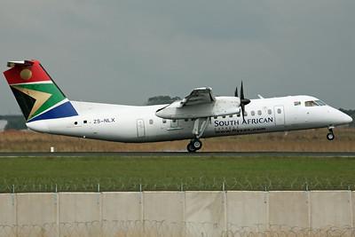 ZS-NLX Dash 8-300 SAA Express