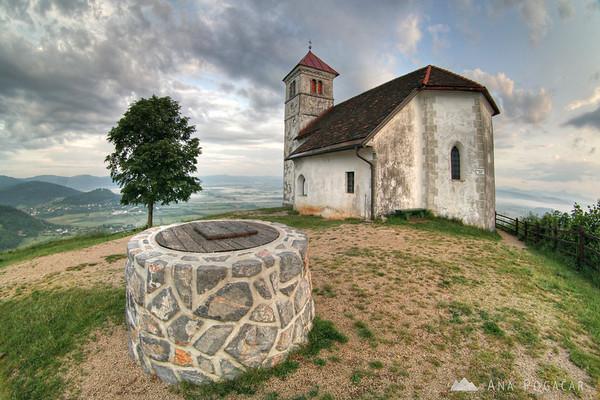 St. Ana church at sunrise