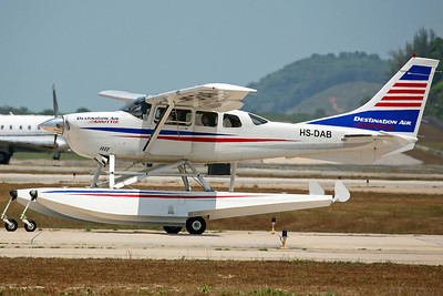 HS-DAB Cessna 206H Destination Air Shuttle (Delivered 28/11/06)