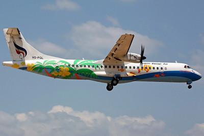 HS-PGL ATR-72-500 Siem Reap Air/Bankok Air ('Pha Ngan' colours)