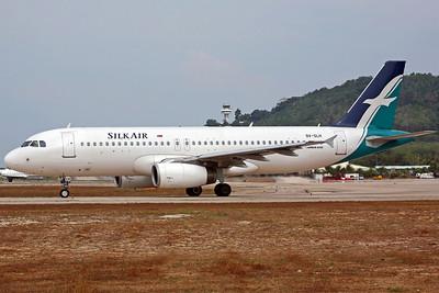 9V-SLH A320-200 Silk Air
