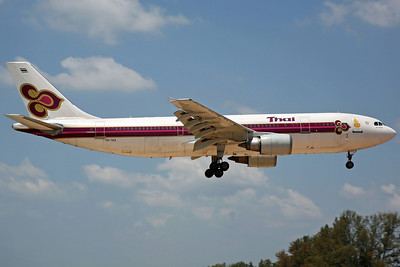 HS-TAA A300-600R Thai Airways