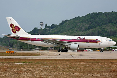 HS-TAT A300-600R Thai Airways