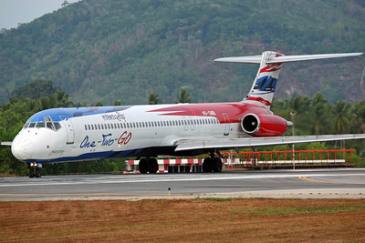HS-OMB MD-82 One-Two-Go/Orient Thai Airlines