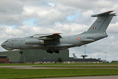 RK-3451 IL-78MKI Indian AF 78Sq. Arriving to support the SU-30 detachment return home.