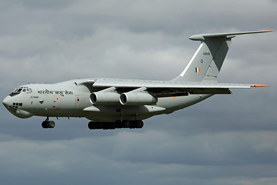 K2878/G IL-76MD Indian AF 44Sq. Arriving to support the SU-30 detachment return home.