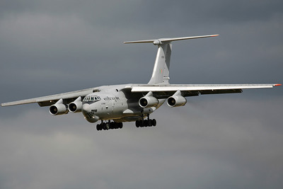 K2663 IL-76MD Indian AF 44Sq. Arriving to support the SU-30 detachment return home.