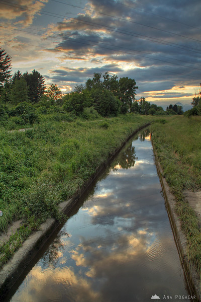 A walk around Mengeš fields