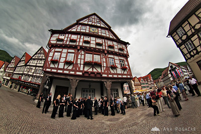 In Germany with Cantemus - Jun 2008