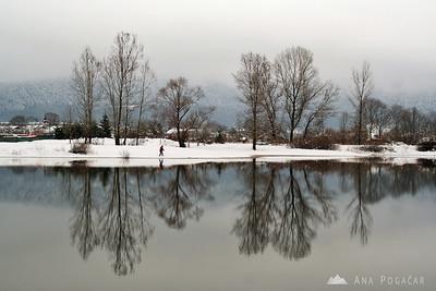 Lake Cerknica, Sv. Ana - Mar 23, 2008