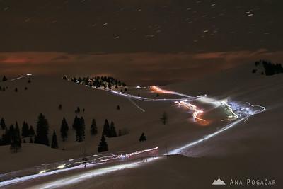 Midnight mass on Velika planina - Dec 24, 2008