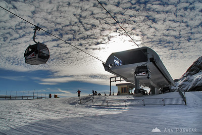 Skiing in Soelden - Oct 2008