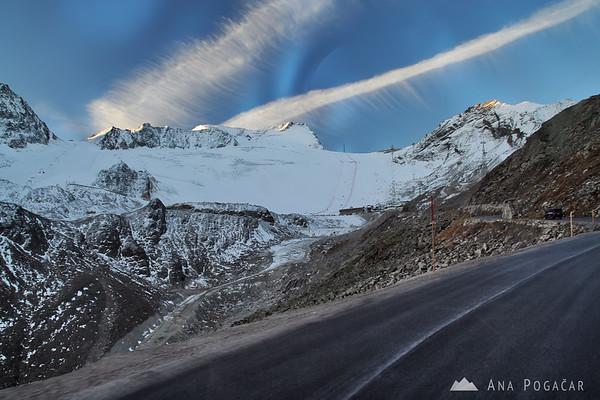 A weekend in Soelden (Austria) skiing and watching World Cup races in alpine skiing