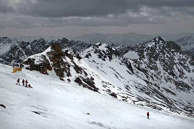 Skiing on Moeltall - Oct 14, 2008