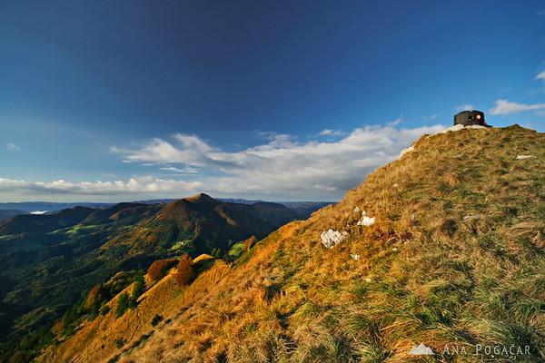 Hiking on Soriška planina
