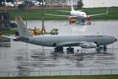 FAC1201 KC-137 (B707-373C 19716) Colombian AF ESCTA811 'Zeus'