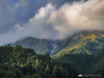 Three climbs to Kamniški vrh - Sep 2009