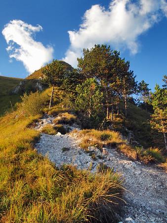 Climbing Mt. Kamniški vrh