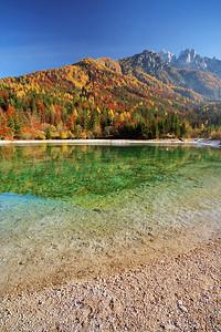 Lake Jasna near Kranjska Gora