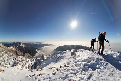 Climbing Mt. Grintovec 2009