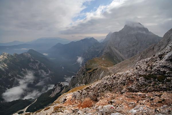 Climbing Mt. Brana