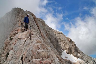 Climbing Mt. Triglav - Jul 26, 2009