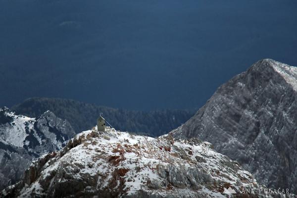 Flight over the Julian Alps