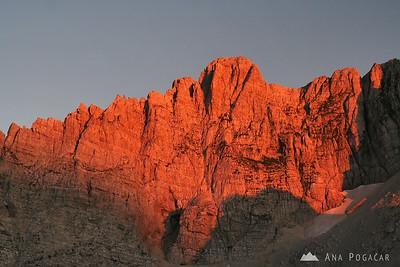 Mountaineering in the Julian Alps 2009