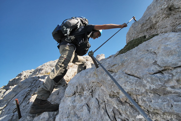Mountaineering in the Julian Alps