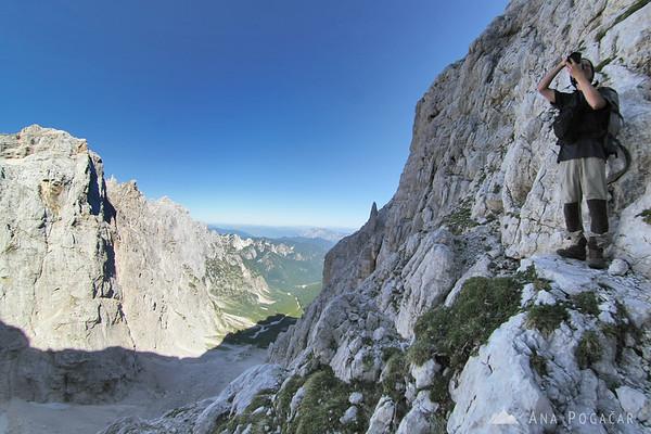 Mountaineering in the Julian Alps