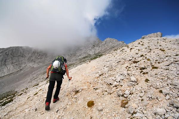 Hiking across the Kamnik Alps in 3 days