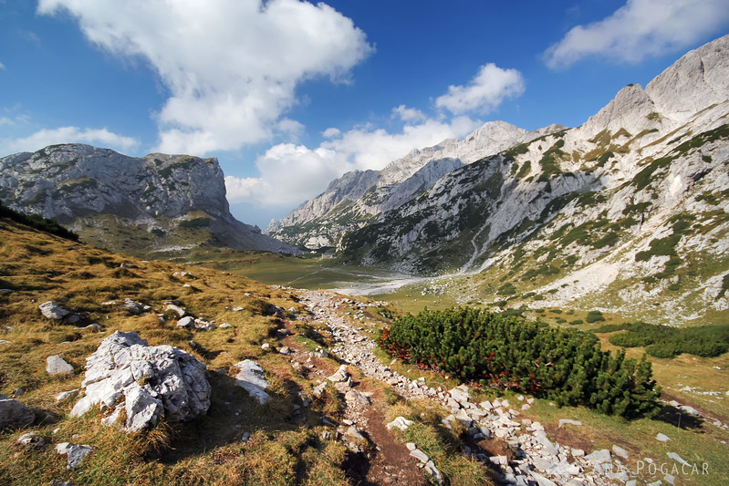 Hiking across the Kamnik Alps in 3 days