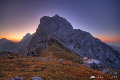 Three-day traverse of the Kamnik Alps 2009