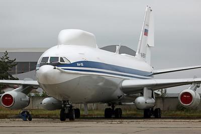 RA-86147 IL-86VKP 'Maxdome' Russian AF 8th SPAD/VzPU. VARZ400 Rework Facility, Vnukovo