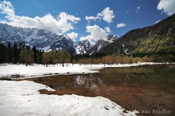 Mangart Lakes (Belopeška jezera)