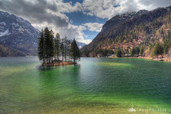 Predel Lake (Rabeljsko jezero)
