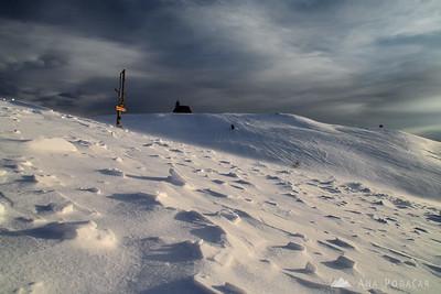 Very snowy Velika planina - Feb 15, 2009