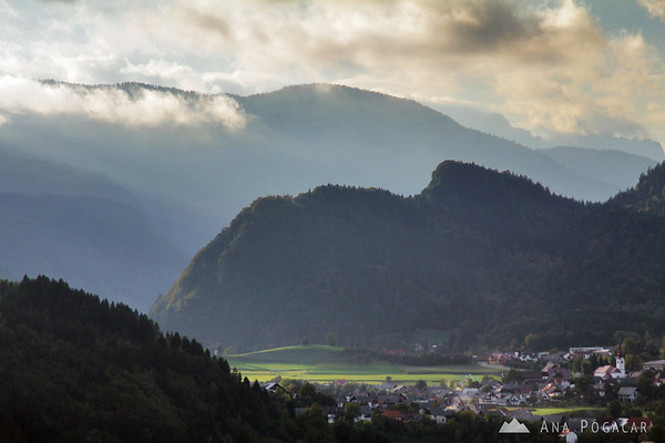 From Bled Castle