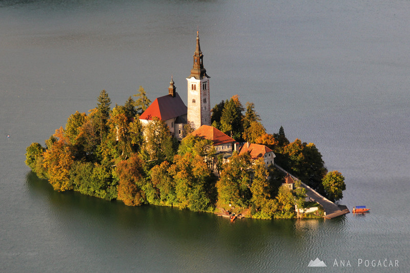Lake Bled from Osojnica hill
