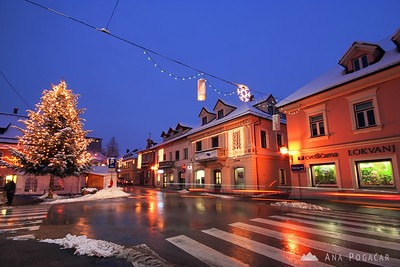 Decorated Kamnik - Jan 6, 2010