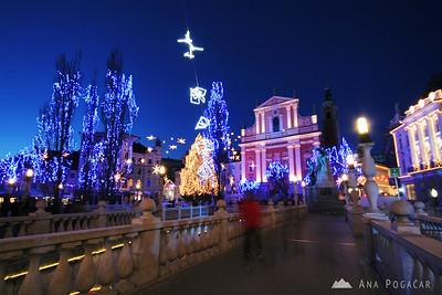 Decorated Ljubljana - Jan 3, 2010