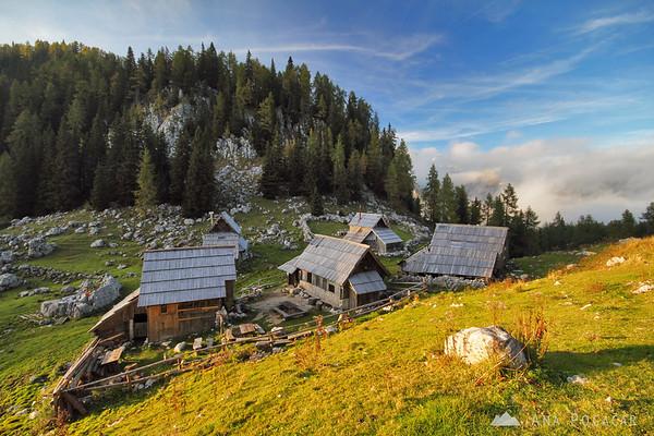 Hiking around Viševnik in the Julian Alps