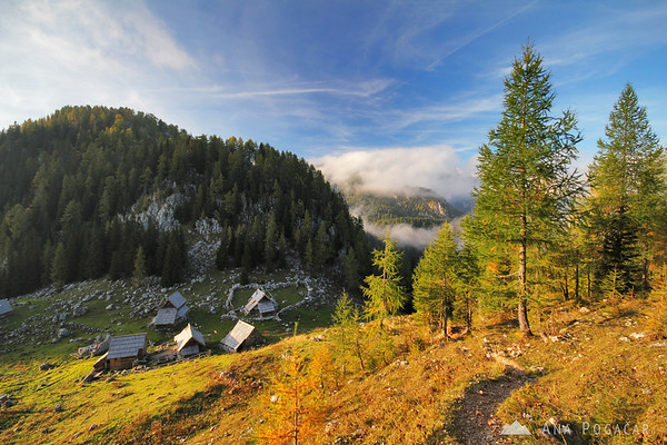 Hiking around Viševnik in the Julian Alps
