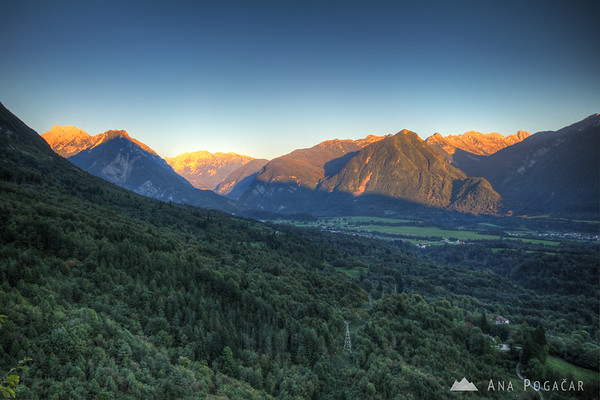 Views over the Bovec valley