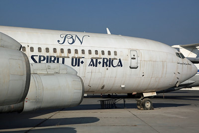 5Y-BRV B707-307C Blue Nile 'Spirit of Africa'. Registered to Alnafay Corp, WFU since 2003.