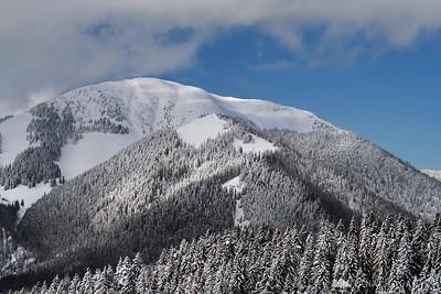 Španov vrh - Feb 21, 2010