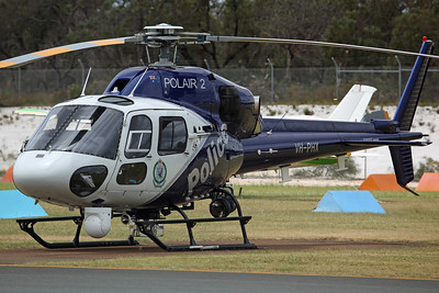 VH-PHX AS355N NSW Police. Detached from Sydney Bankstown for CHOGM 2011 duty.