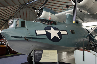 N9502C PBY-5A (46624) US Navy. Acquired by the Australian American Catalina Foundation Inc in 1998. After restoration at Hawkins, TX was shipped from San Diego to Darwin by USS Comstock in 2001, before onto Freemantle and road to Perth Airport. While stored at the Midland Railway Workshops, the original plan of display at Crawley Bay (as a memorial to the US Navy WW2 base) was abandoned and the aircraft arrived here in 2007.
