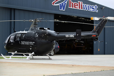 VH-XRG Bo105LS A-3 Heliwest/Helibits Ltd
